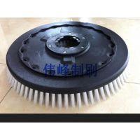芜湖爱瑞特510洗地机盘刷 瑞捷X5/X5D洗地刷 19寸洗地刷针盘