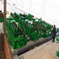 佛山供应60机大型管材制管成型设备 汽车排气管制管机