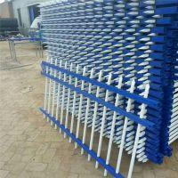 栅栏式围墙 组装式锌钢护栏多少钱一米 组装式围墙栅栏规格
