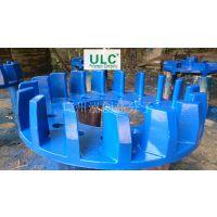螺旋输送机喷涂ULC耐磨聚氨酯弹性涂层,提供强有力的保护