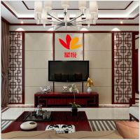 实木花格镂空  室内装饰客厅玄关隔断   中式花格背景墙