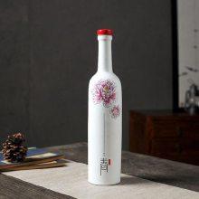古风白酒空瓶子 一斤装酒瓶 陶瓷送礼仿古储酒罐
