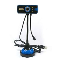 优酷高清摄像头带麦克风/夜视灯 USB电脑视频头家用免驱批发