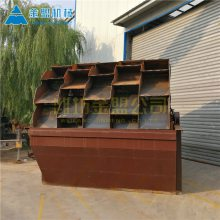 喀什螺旋洗砂机生产商 螺旋洗砂机小时处理量