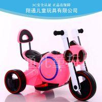 儿童电动车摩托车太空狗车宝宝可坐童车电瓶车玩具车儿童三轮