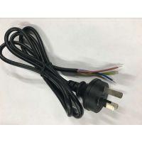 供应 1.5米澳洲电源线 SAA认证安规电源线 澳规三插电源线