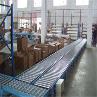 北京无动力滚筒输送机 碳钢喷塑纸箱动力辊筒输送机