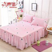 床裙席梦思韩式床罩 床套单件 床盖床单床笠2.2/1.5/1.2米