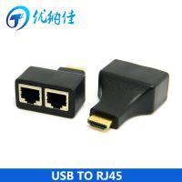 批发HDMI延长器 hdmi信号放大器 3D 1080P hdmi网线延长器30米