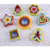 烘焙模具 5-6件套塑料饼干模 蛋糕 五角星模具六件套
