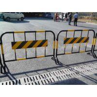 石狮晋江南安 马路临时道路隔断铁马护栏 施工围栏可移动隔离防护栏 厂家