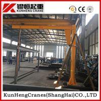 苏州立柱式悬臂吊、锟恒KBK轨道手动旋臂起重机、125kg-1000kg定柱式旋臂吊