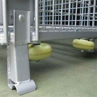 奥科厂家现货仓库周转筐 镀锌铁丝网框 折叠式仓储笼 可定做