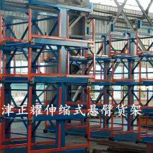 福建钢板存放架 大板材存取方便 抽屉式货架结合行车 机械操作吊取
