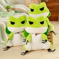 旅行青蛙周边抱枕旅游青蛙玩偶办公室午睡毯靠垫毛绒玩具公仔崽崽