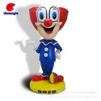 形象公仔 马戏团演员小丑出口韩版人偶定制树脂工艺品