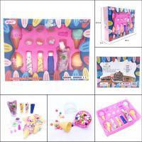 韩版儿童diy手工制作彩泥装饰水果蛋糕冰淇淋仿真奶油土黏土套装