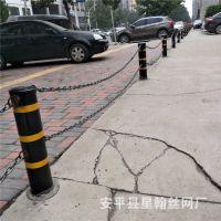 厂家直销道路隔离防撞安全挡车柱 钢铁警示柱 分道口安全防撞柱