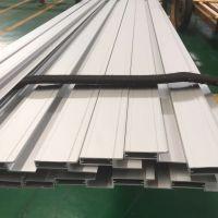 6063工业异型铝型材 氧化电泳铝方管木纹铝方通