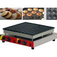 商业小松饼设备,100孔小松饼机,华夫炉机器,铜锣烧机,铜锣烧饼