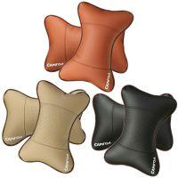 汽车座椅头颈部垫头枕 透气吸汗车用头枕  三色可选