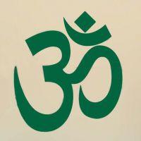新款瑜伽文字绿色OM墙贴舞蹈室健身房贴纸少年宫培训装饰壁画