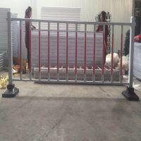 喷涂标准护栏市政防护围栏 马路城市交通设施pvc道路中央隔离网护栏