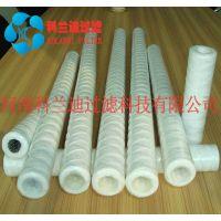 K线绕棉线式水滤芯 过滤棉芯 pp棉滤芯 水过滤器专用缠绕式滤芯