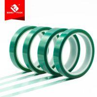 惠州博美高温绿色胶带电子绝缘胶纸粘工业制造生产耐铁氟龙胶带