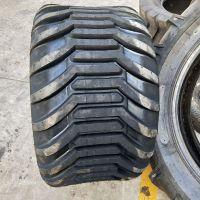 出售500/45-22.5捆草机轮胎 林业农用拖车轮胎 全新品质 可配钢圈