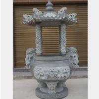 厂家直销石雕香炉 仿古青石方形 墓地祠堂寺庙天然大理石香炉
