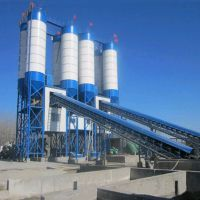 hzs120混凝土搅拌站生产线