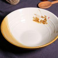 器演 陶瓷面碗 钓鱼拉面碗用系列 日本日韩餐具 陶瓷餐具批发