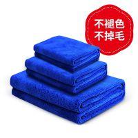洗车毛巾擦车布吸水加厚特大小号不掉毛汽车用品抹布车用专用套装