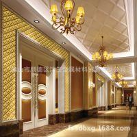 304不锈钢凹凸3D压花板 天花装饰电视背景墙 家装酒店定制
