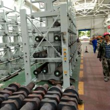 浙江10米管材存取方便 伸缩悬臂式货架图片 钢管货架效果图