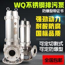 排污泵多少钱VN250废水潜污泵 上海泉森 不锈钢防腐蚀化工泵