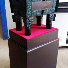 四羊方尊摆件工艺品 中国青铜器陕西厂家刻字加工 办公室单位装饰品 礼品青铜器
