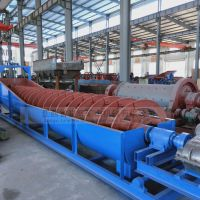 湖南骏辉厂家供应螺旋分级机 螺旋洗砂机 沉没式分级机 高堰式螺旋分级机