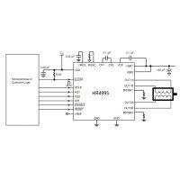 A4985/HR4995(内置转换器和过流保护的微特步进电机驱动芯片)