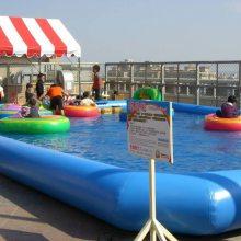 小老虎水上电瓶船 福建儿童水上碰碰船售价低质量好 水上乐园