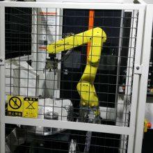 法兰加工机床上下料机器人/机械手车床-机床加工自动化机械手