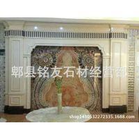 天然透光真玉石 电视背景墙  山水画等各种图形,质保50年