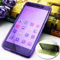 小米 红米note2透明翻盖手机套定制 可触屏tpu保护套手机壳清水套