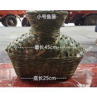 笆篓 竹编鱼篓 手工编织 道具 竹制装饰品 量大从优