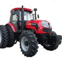 山东腾拖1304大型拖拉机农场专用犁地开沟粉土机高效率旋耕拖拉机