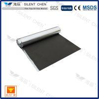 厂家批发 2-3mm IXPE泡棉镀铝箔 高档地板防潮阻燃地垫 地板膜