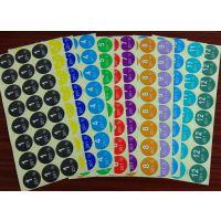 东莞创美定制各种颜色月份贴纸 不干胶贴纸 数字 文具用品标签贴纸