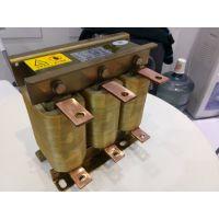 三相进线电抗器 上海昌日 JXL-250A/2% 箔绕 功率90KW