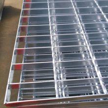 厂家热卖热镀锌地沟盖钢格栅板_Q235材质钢结构平台镀锌钢格栅板